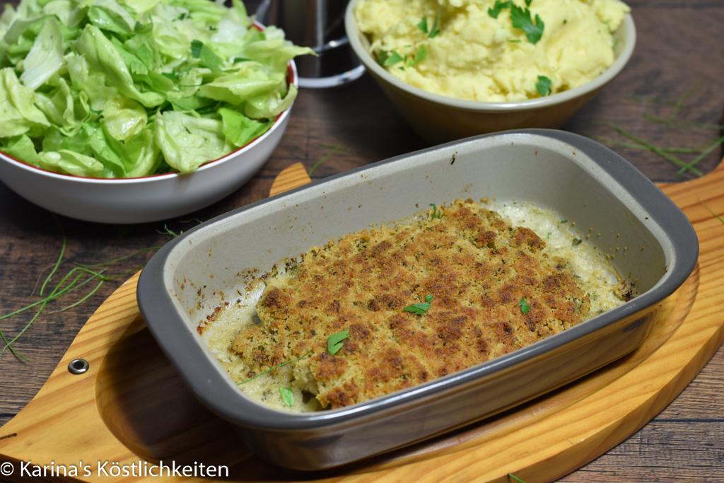 Rezept für Schlemmerfilet-a-la-Bordelaise Pampered Chef® Ofenhexe