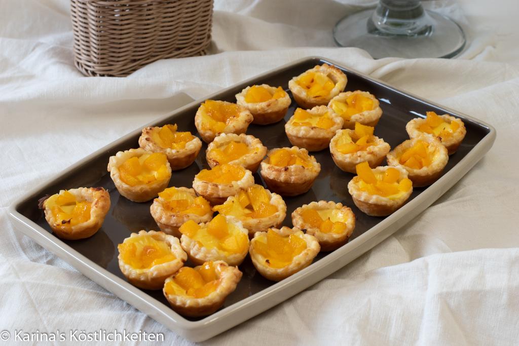 Pfirisch-Pudding-Küchlein