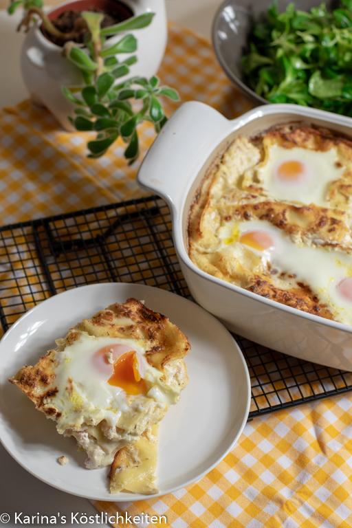 Lasagne a la Carbonara