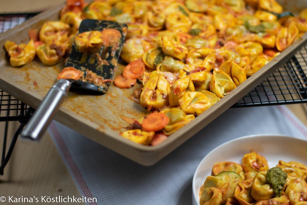 Rezept für Backofen Totellini mit Gemüse Pampered Chef
