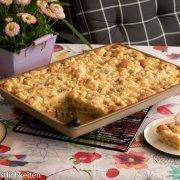Rezept für Rhababer-Streusselkuchen vom großen Ofenzauberer Pampered Chef