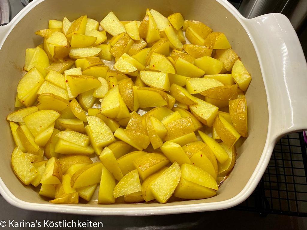 Kartoffeln im großen Bäker