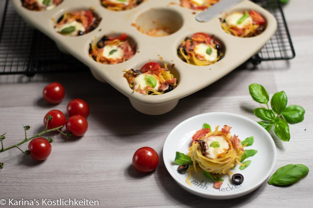 Rezept Mediterrane Spaghetti-Muffins 12er-Snack Pampered Chef