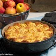 Rezept Apfelkuchen Stoneware Pampered Chef