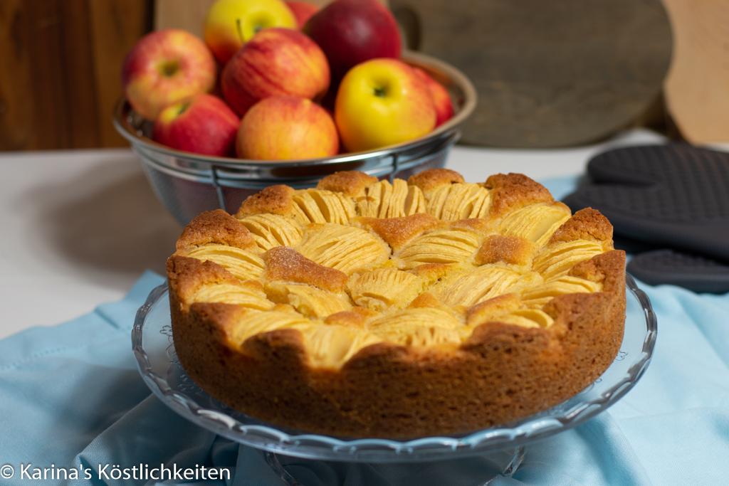 Rezept Apfelkuchen Stoneware rund