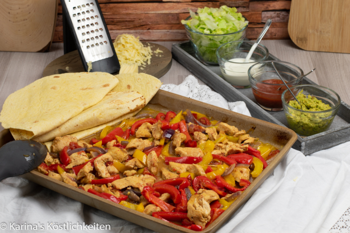 Rezept Fajitas Ofenzauberer Pampered Chef
