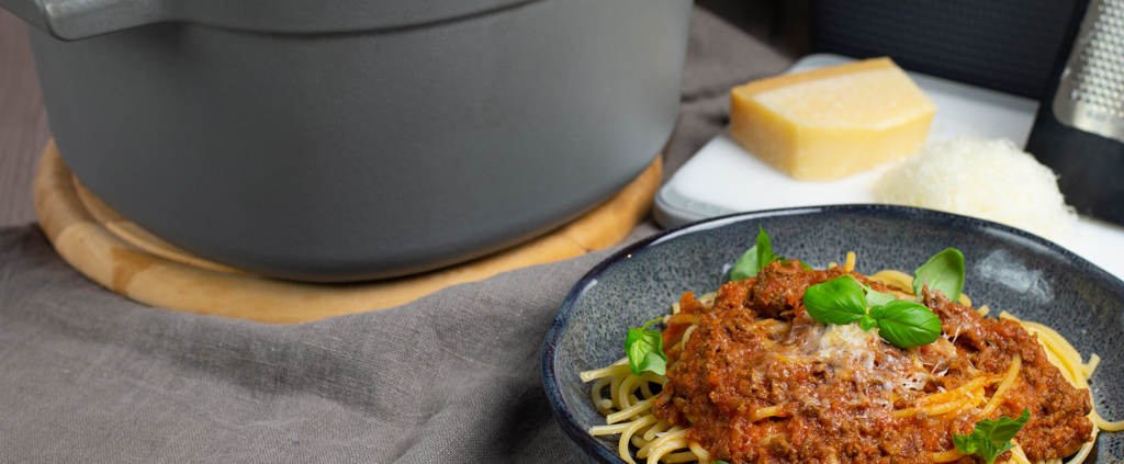 Rezept perfekte Bolognese Pampered Chef®