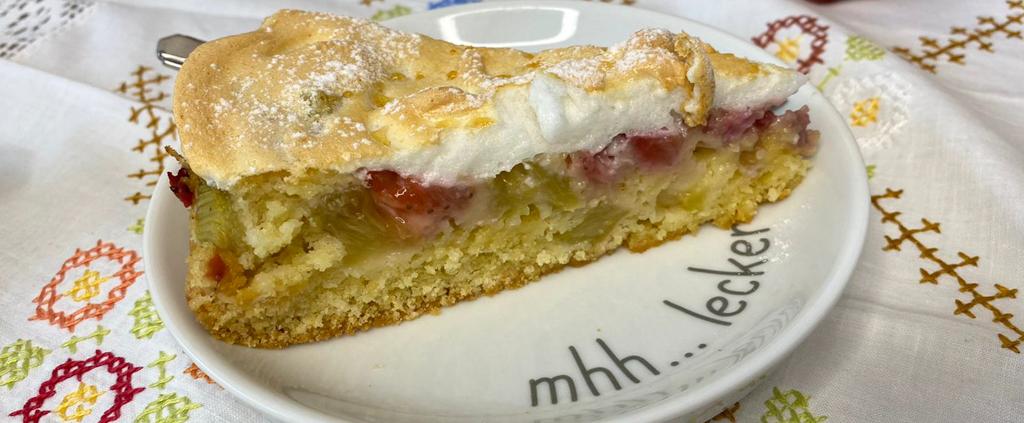 Rhababer-Kuchen Pampered Chef