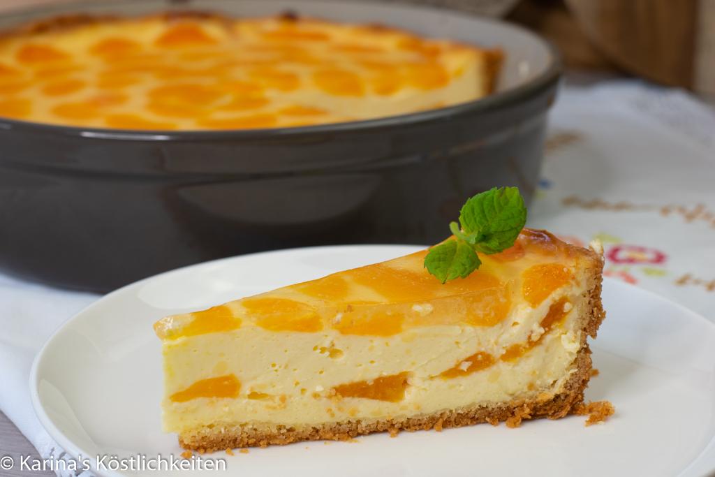 Rezept Mandarinen-Schmand-Kuchen Stoneware rund Pampered Chef®