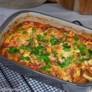 Rezept Maultaschen-Zucchini-Auflauf Pampered Chef®