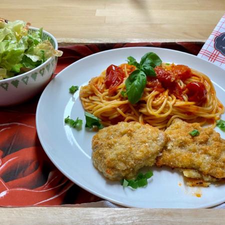 Rezept Piccata Milanese Pampered Chef®