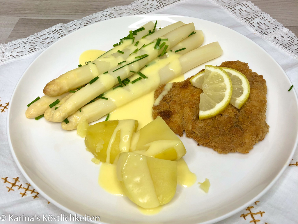Spargel mit Schnitzel Pampered Chef