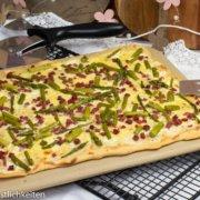 Flammkuchen mit grünem Spargel Pampered Chef®