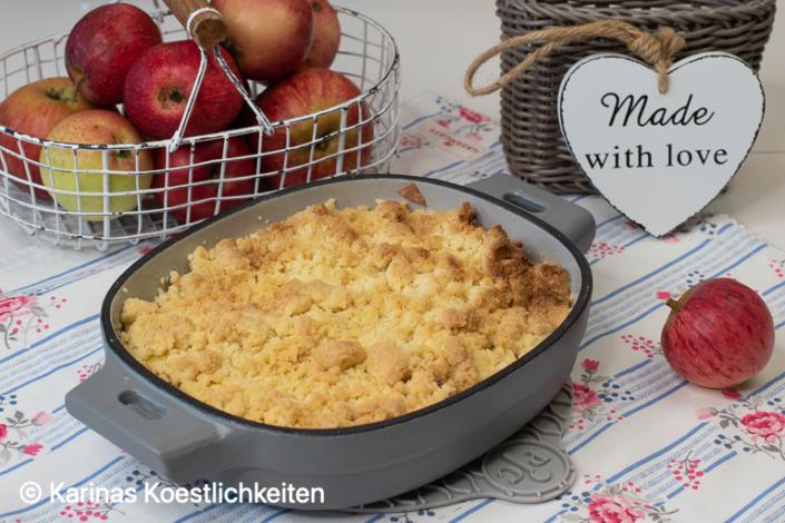 Rezept Apfel-Crumble aus dem Deluxe Air Fryer von Pampered Chef®