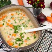 Rezept Hühnerfrikassee aus dem Ofen Ofenmeister Pampered Chef®