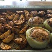 Gefüllte Kohlrabi mit Countrykartoffeln Pampered Chef