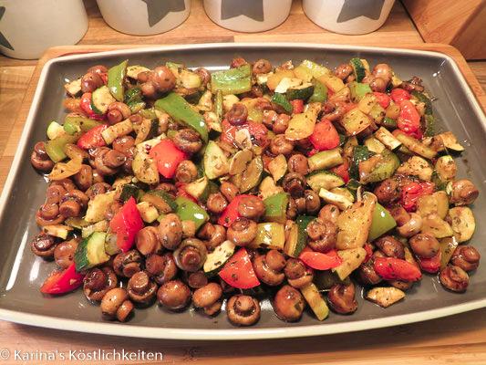 Italienisches Gemüse vom Ofenzauberer Pampered Chef