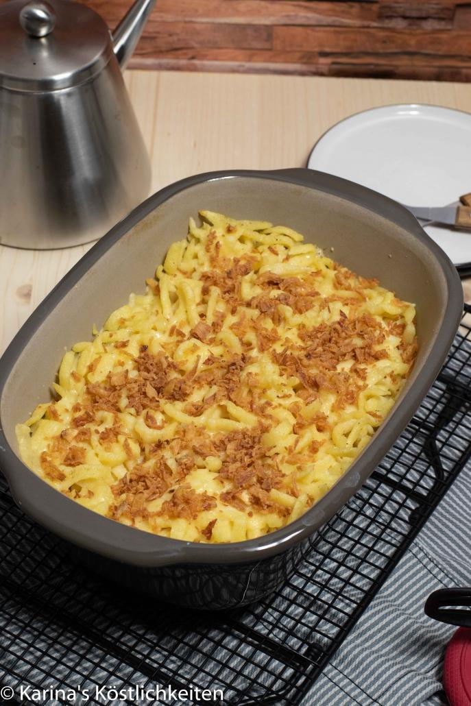 Rezept Käsespätzle aus dem Backofen Pampered Chef