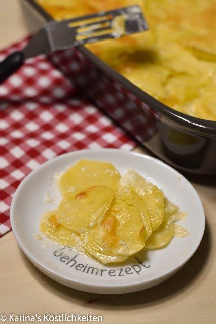 Rezept für Kartoffelgratin